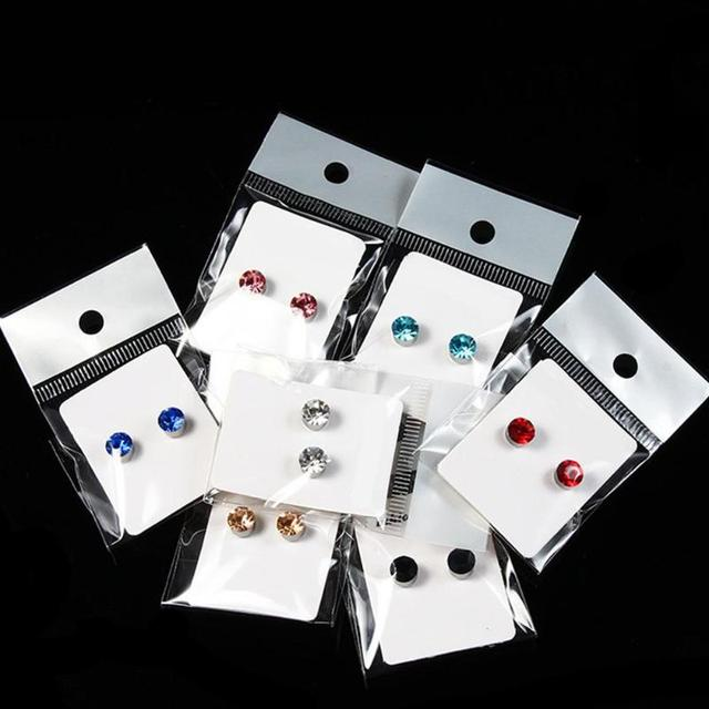 1 Pair Magnetic Slimming Earrings Lose Weight Body Relaxation Massage Slim Ear Studs Patch Health Jewelry 5