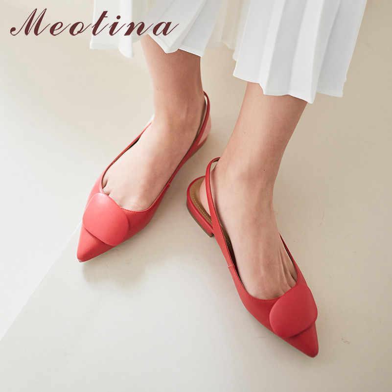 Meotina Spring Flats Women Shoes