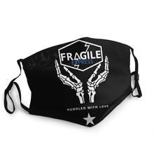 Frágil express death stranding reutilizável jogo máscara protetora mgs capa de proteção contra poeira respirador