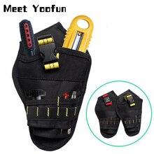 Drill Holster Belt Electrician-Tool Storage-Bag Waist-Bag-Organizer Impact-Driver Oxford-Cloth