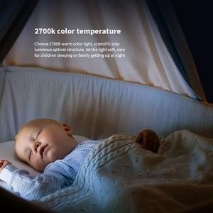 Image 5 - Yeelight lampka nocna z żarówką LED dla dzieci z czujnikiem światłoczułym inteligentna ściana lampa do korytarza sypialnia główna