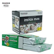 10 20 40 50 folhas fuji fujifilm instax mini 9 8 filme para mini instantâneo 11 9 7s 25 50 s 90 câmera Sp-2 papel de foto filme de borda branca
