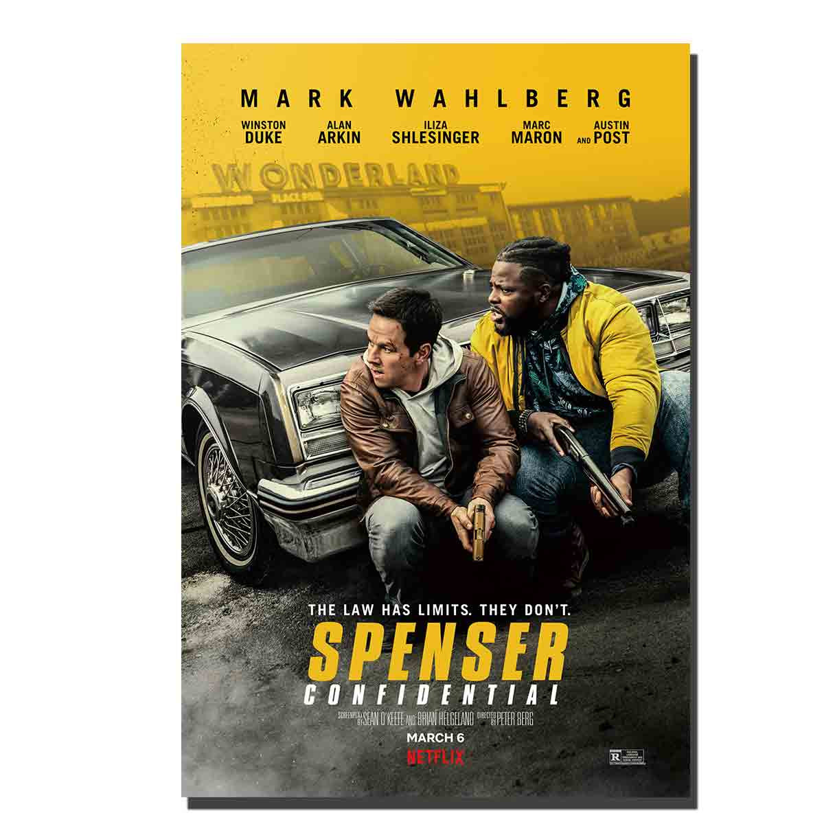 C424 Spenser Confidential Movie Art Posters And Prints Wall Pictures For Living Room 12x18 27x40 8x12 Canvas Painting Aliexpress
