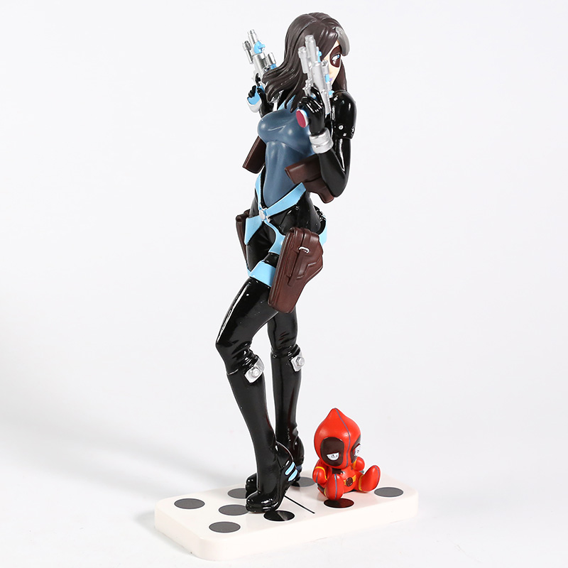 Image 5 - Marvel X Men Domino Neena Thurman Bishoujo 1/7 Scale PVC Figure Collectible Model Toy-in Action & Toy Figures from Toys & Hobbies