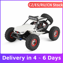 WLtoys XK 12429 1:12 RC Car Crawler 40km/h High Speed 2.4G 4WD Electric Car with Head Lights RC Off-Road Car RC Gift