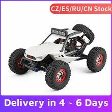 Carro wltoys xk 12429 1:12 rc, carro crawler 40 km/h, alta velocidade 2.4g 4wd, carro elétrico com farol rc carro rc fora de estrada presente