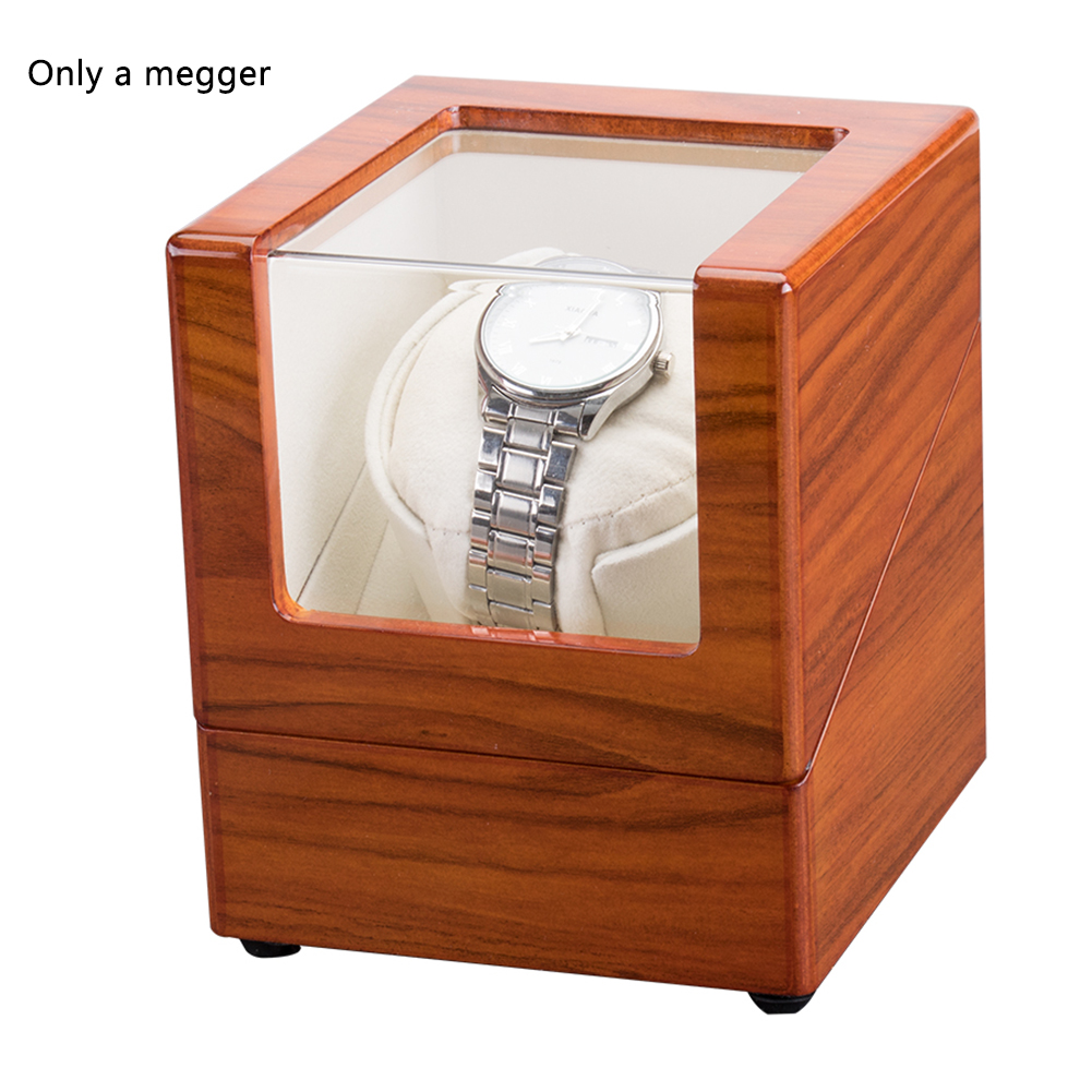 Storage Wristwatch Motor Shaker Organizer Box Collection Watch Winder Mechanical Automatic Rotation Holder Jewelry Accessories