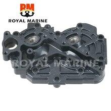 Bloco da cabeça do cilindro 6b4 11111 00 1s para yamaha 15hp 9.9hp 15d motor de popa barco a motor peças de reposição 6b4 11111 barco a motor