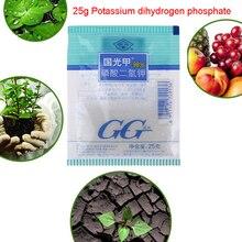 25 г калия диводород фосфат листьев поверхностное удобрение способствует растению цветок общее удобрение для роста овощных удобрений