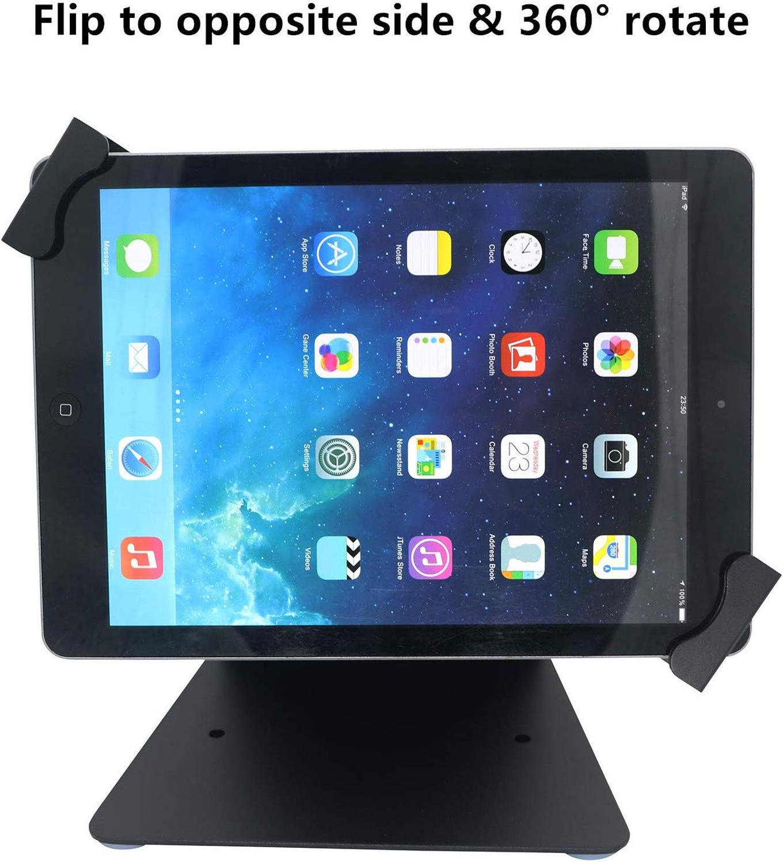Настольная Противоугонная стойка для кассовых терминалов, планшетов, держатель с поворотом на 360 °, корпус с замком и ключами для iPad Air Mini 7-10''-1