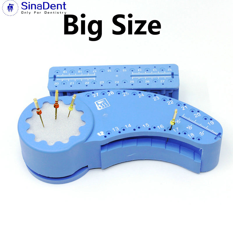 1Pcs Dental Endo Measuring Ruler Endo Files Block Files Tray With Scale Autoclavable  High Quality Dentistry Instrument Ruler