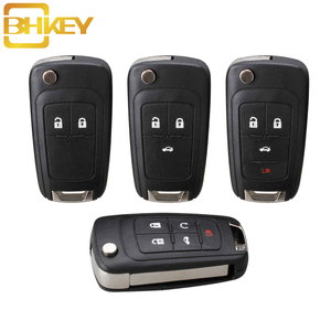 BHKEY Citroen Remote Key Shell Citroen Key ce0523 For Chevrolet Cruze Epica Lova Camaro Impala Car Key Fob Case