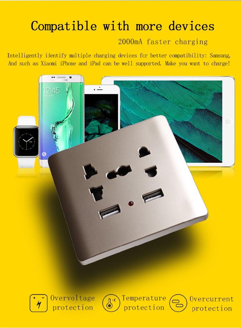 便宜USB插座多功能五孔_02