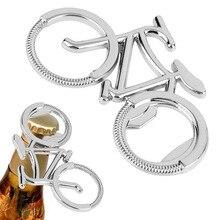 Abridor de botellas de cerveza de Metal, bonito llavero de bicicleta para amantes, abridores de botellas de Biker, regalo creativo para ciclismo