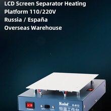 Heating Platform Separator Smooth-Plate Lcd-Repair-Machine Glass-Removal Kaisi 110/220v