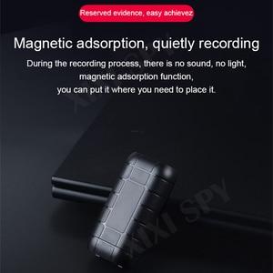 Image 2 - XIXI SPY 500 stunden Voice recorder Diktiergerät pen audio sound mini aktiviert digital professional micro stick