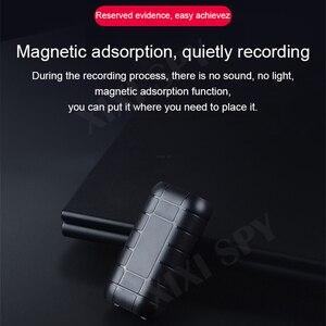 Image 2 - XIXI casus 500 saat ses kaydedici kulaklık kalem ses ses mini aktif dijital profesyonel mikro flash sürücü
