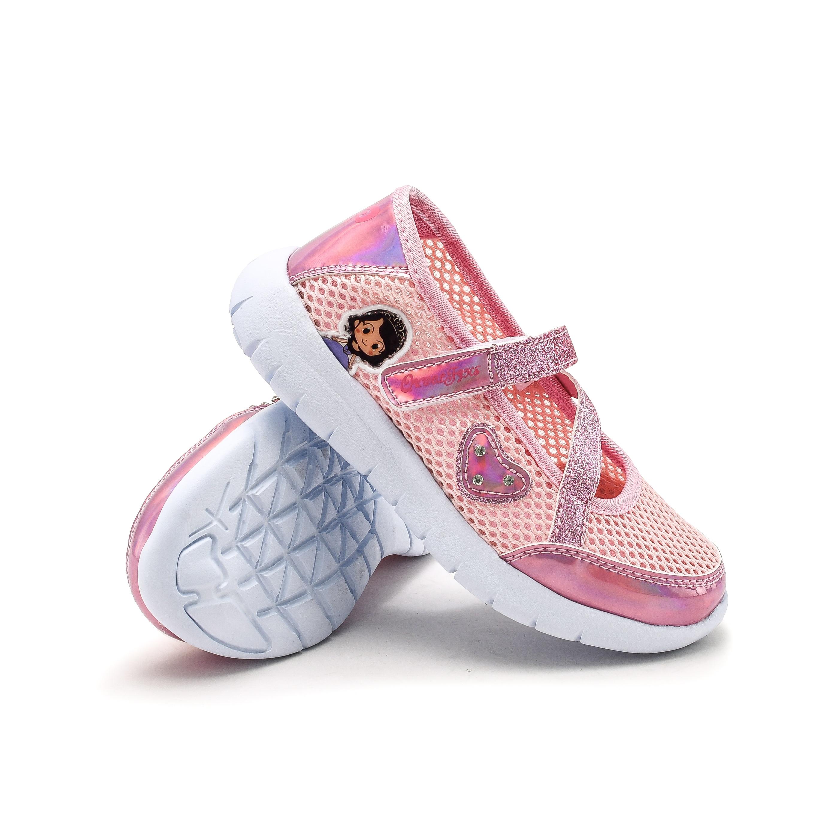 Summer Candy Color Girls Sandals Kids Shoes Princess Mesh Sandalas Fashion Sports Shoes Girls Hollow Out Flats Shoes