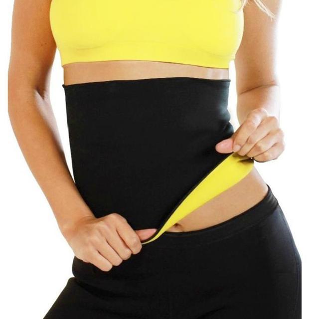 Women Adjustable Waist Trimmer Body Shaper Slimming Tummy Control Corset Belt