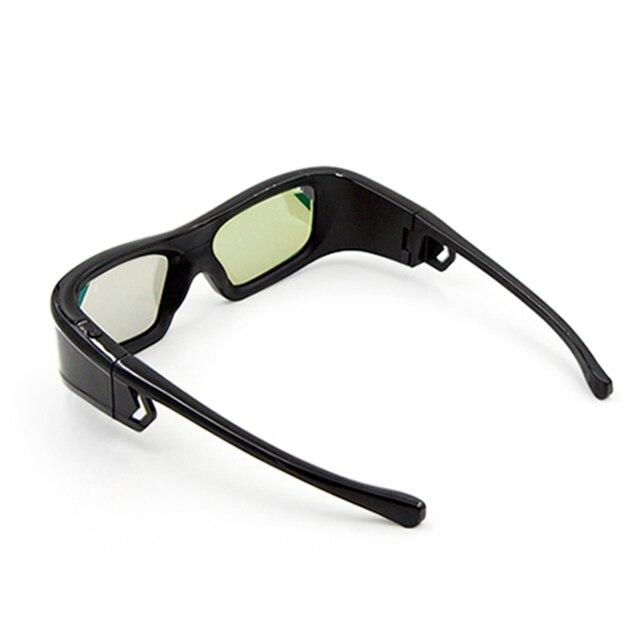 GL410 3D gözlük projektör Full HD aktif DLP Link gözlük için Optama Acer BenQ ViewSonic keskin Dell DLP bağlantı projektörler