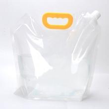 3L складная сумка для воды для путешествий, кемпинга, альпинизма, сумка для воды, портативная подъемная сумка для хранения питьевой воды, набор для выживания