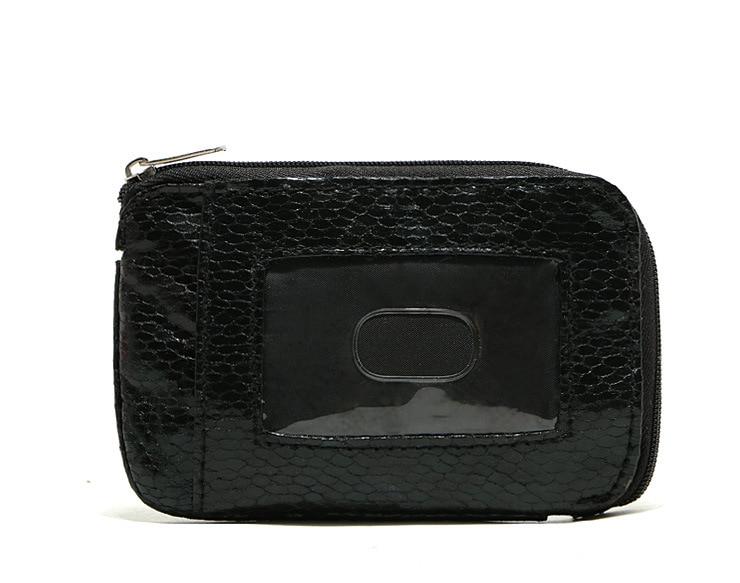 Foreign Trade Original Garment Snakeskin Bus Wallet Bank Card Holder Coin Purse Cost
