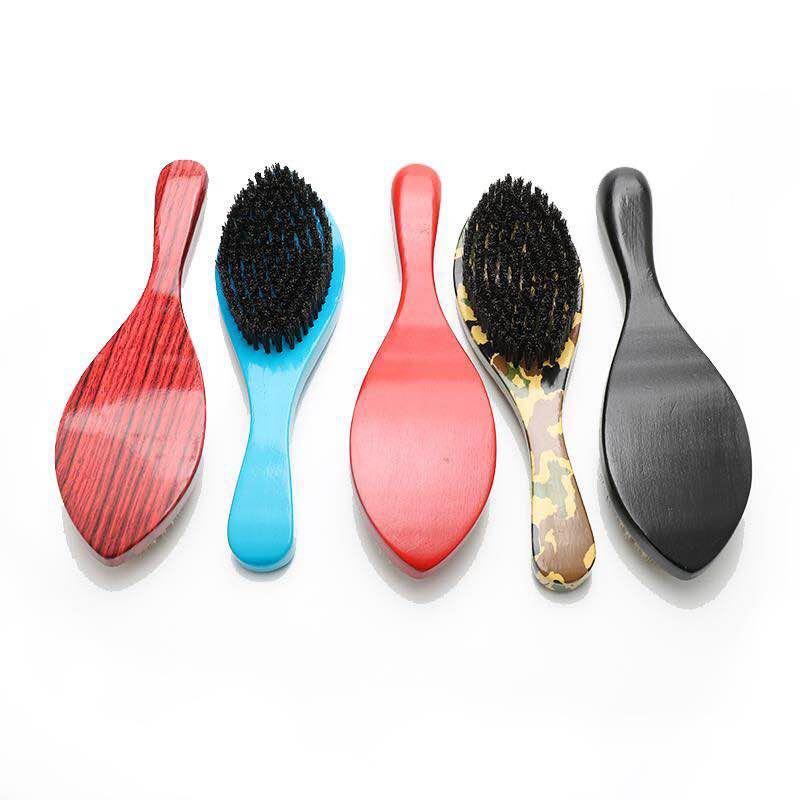 longa curvada barba modelagem escova de barbear