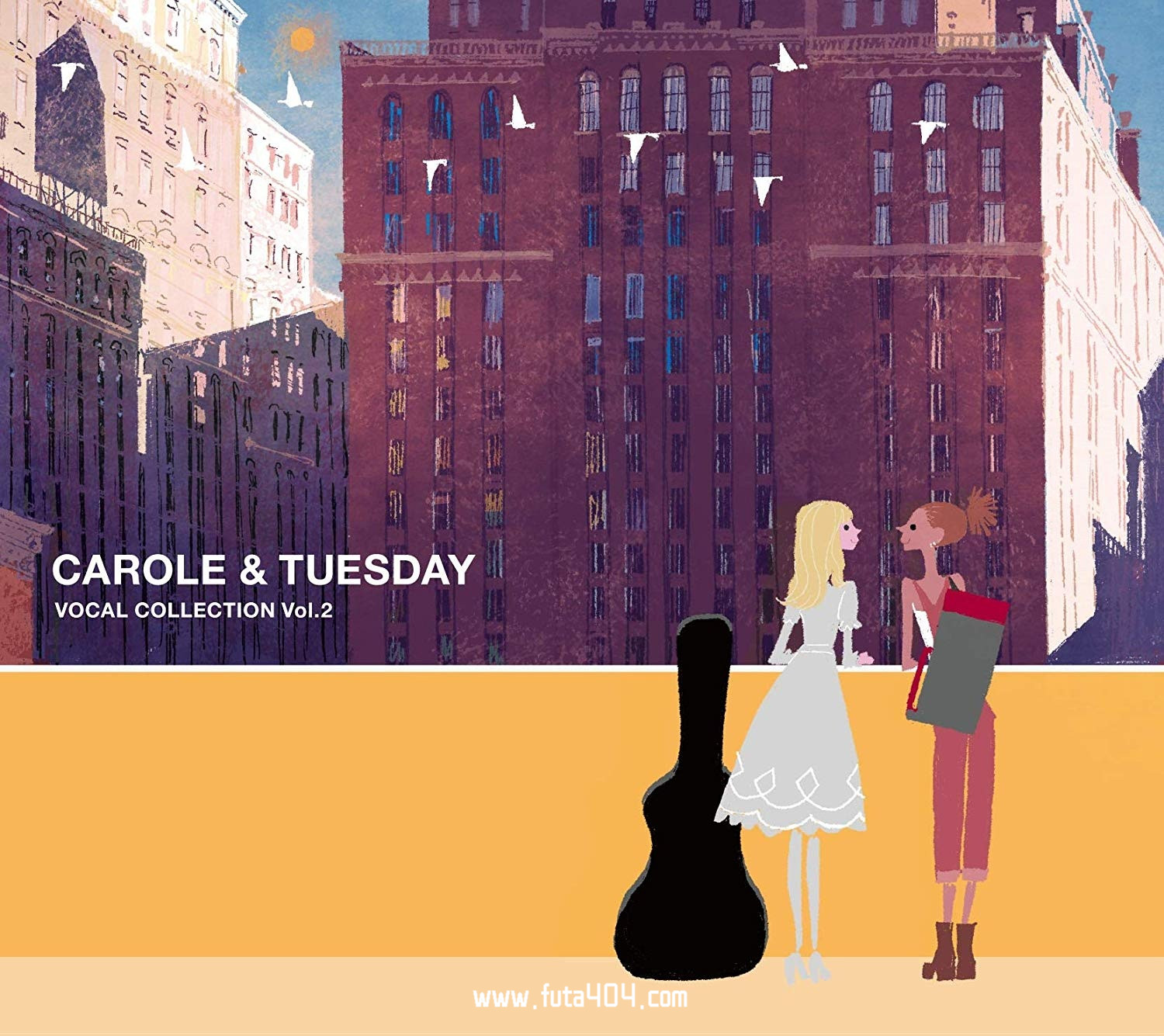 Carole&Tuesday歌曲集vol.2下载(Carole&Tuesday动画插入歌) CAROLE&TUESDAY 动漫音乐 第1张