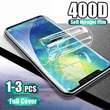 400D 1-3Pcs Hydrogel Film For Huawei P20 Lite P30 Pro Mate 20 30 Protective On The Honor 8X 20 20S i