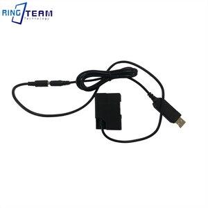 Image 2 - EP 5A DC Coupler EN EL14 Dummy Battery 4017 Connector + QC 3.0 USB Power Cable for Nikon Camera P7700 P7000 D6500 D5500 D5300