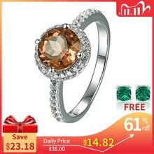 Zultanite султанит изменение цвета Silver Ring Women Fashion 2.3 Carats Created Diaspore S925  Wedding Band Color Change Stone