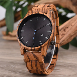 Image 3 - DODO DEER Men Wood Watch Stylish Simplicity Calendar Quartz Sport Male Relogios Masculino Wristwatches Men Shock Gift for Him