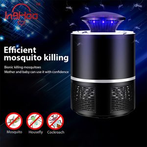IngHoo Mosquito killer USB electric mosquito Lamp Photocatalysis mute Light LED bug zapper insect trap Radiationless