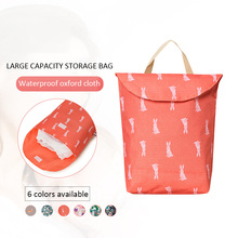 Diaper storage bag Baby diaper handbag maternal and child reusable waterproof oxford Hasp
