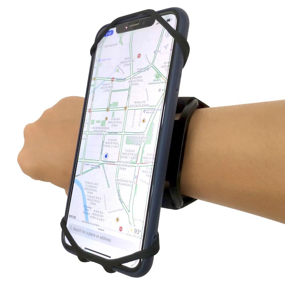 4,7-6.5in Läuft Tasche Männer Frauen Armbinden Touchscreen Handy Fall Drehbare Lauf Gürtel Radfahren Gym Arm Band tasche für iPhone