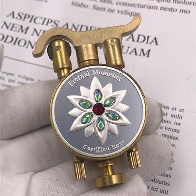 Commemorative Collection Handmade Trench Kerosene Lighter12
