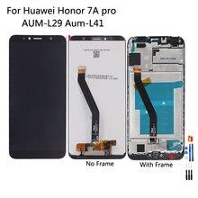 Оригинальный ЖК дисплей с тачскрином для huawei honor 7a pro