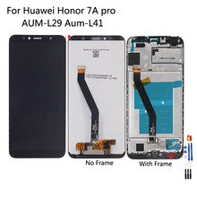Original LCD For Huawei Honor 7A pro LCD Display Touch Screen AUM L29 Aum L41 Repair Parts For Honor 7A pro AUM L33 Screen