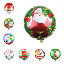 10pcs/lot 18 inch Round Foil Balloons Happy Birthday Party Decorations Kid merry Christmas decoration