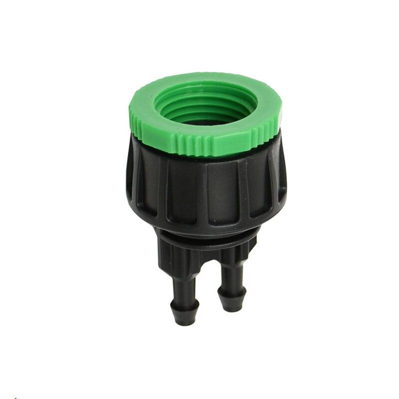 Irrigation Connector Garden Barbed Splitter Joiner 50pcs Adapter Watering Screw