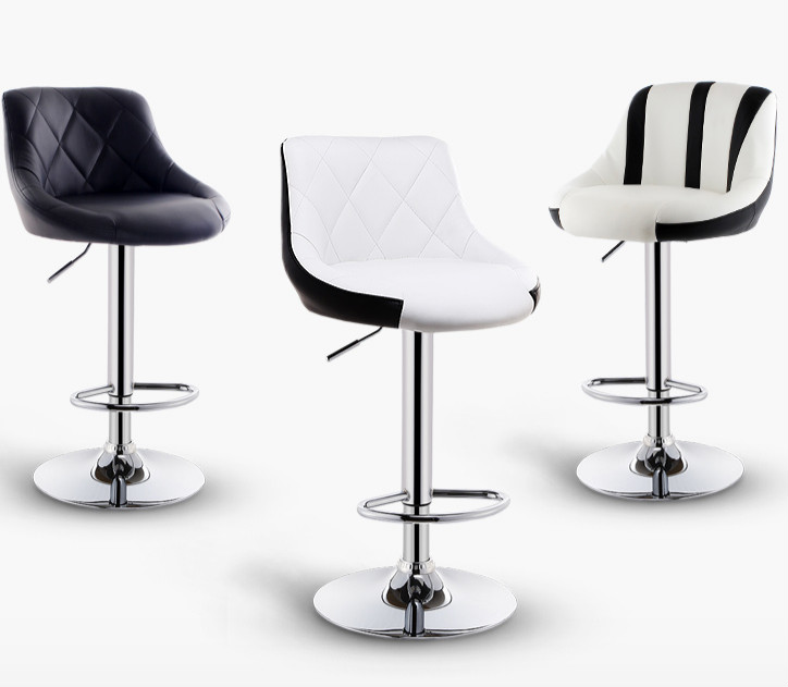 Bar Stool Lift Home Front Desk Bar Chair Modern Minimalist High Stool Back High Bar Stool