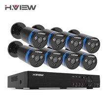 H. Vista 16CH Sistema di Sorveglianza 8 1080P di Sicurezza Esterna Macchina Fotografica 16CH CCTV DVR Kit Video di Sorveglianza iPhone Android Vista A Distanza