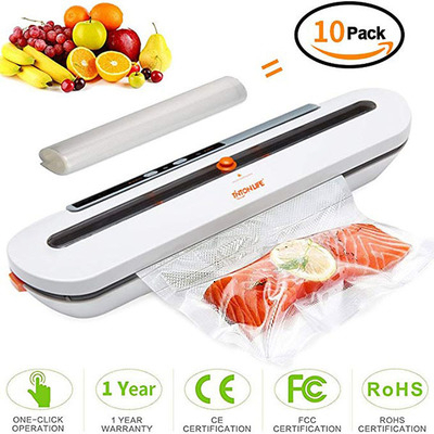 High Quality Food Vacuum Sealer Packaging Machine With 10pcs Bags Free Vacuum Food Sealing Machine Vacuum Sealer Packer