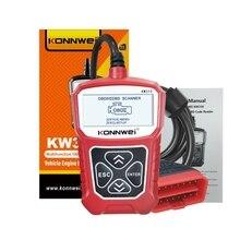 2020 mais novo profissional leitor de código do carro ferramenta diagnóstico digitalização kw309 obd2 scanner automotivo verificação motor luz ferramentas mu