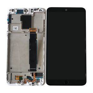 """Image 3 - 5.46""""Original Super  Amoled Axisintern For Meizu 15 MX 15 M881 Snapdragon 660  LCD Screen Display+Touch Panel Digitizer Frame"""