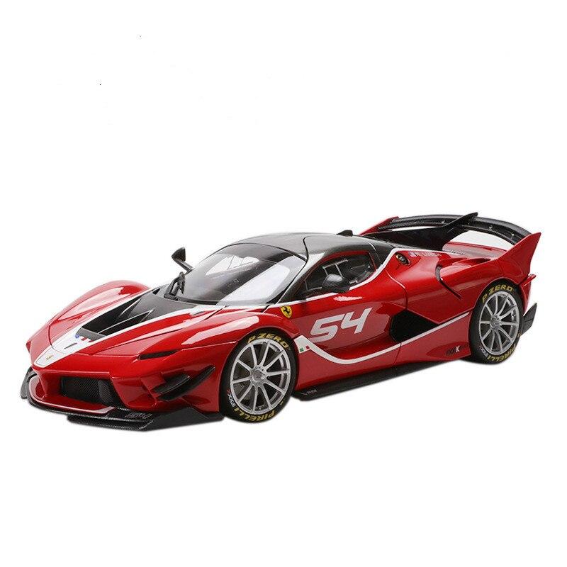Modèle de voiture de sport Farah FXXK 1:18 modèle supérieur proportionnel modèle de jouet Automobile en alliage moulé sous pression, modèle Automobile à collectionner