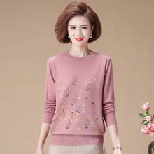 Новый свитер для женщин среднего возраста женский осенне зимний