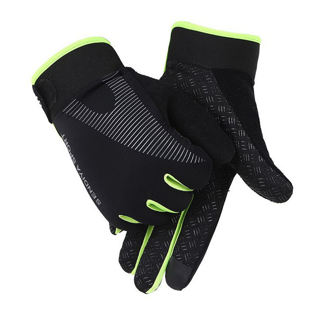 Recente 1 par de bicicleta luvas de dedo cheio touchscreen luvas mtb respirável verão luvas leve equitação glov 4