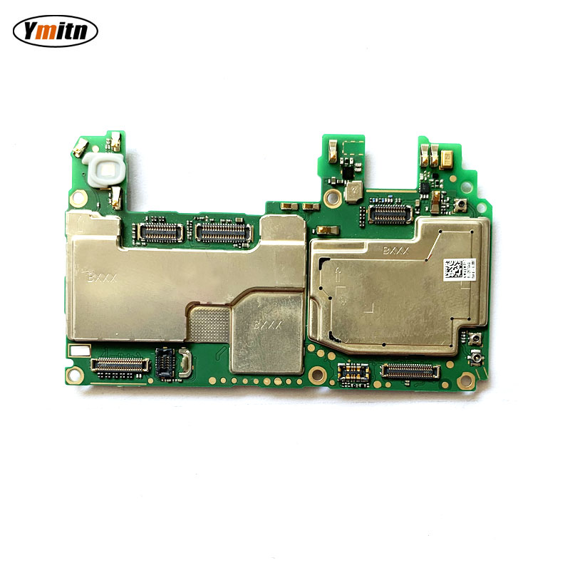 Ymitn Electronic panel mainboard <font><b>Motherboard</b></font> unlocked with chips Circuits flex Cable For Huawei <font><b>Honor</b></font> <font><b>7X</b></font> BND-AL10 image