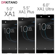 """For 5.0"""" Sony XA1 Plus LCD Display Touch Screen For SONY Xperia XA1 Ultra LCD G3221 G3223 G3212 G3226 G3116 G3121 G3412 G3421"""